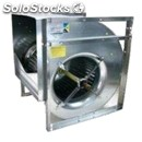 Centrifugal fans for transmission - dual extraction - structure made from