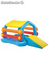 Centro de juego hinchable tobogan piscina 279x173x122 | intex