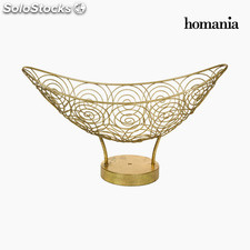Centro de Mesa Metal Dorado - Colección New York by Homania