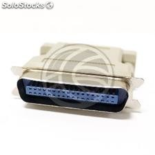 Centronics adapter CN36-Male to DB25-female (CP27-0002)