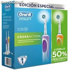 Cepillo Dental Duo Vitality Cross Action 2016 Oral-B