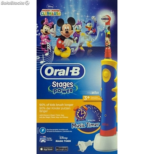 Cepillo Dental Infantil Oral-B D 12 Vitality Stages Mickey