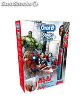 Cepillo dental infantil vengad oral-b vitality advengers