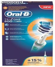 Cepillo dental oral-b recargable trizone pc 600 trizone