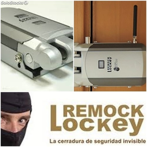 Cerradura seguridad invisible remock lockey for Cerradura invisible remock lockey