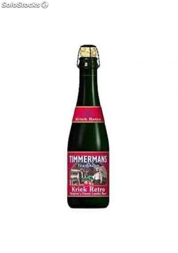 Cerveza Timmermans Tradition Kriek Retro 12 Und