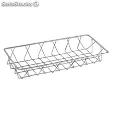 Cesta alambre acero inoxidable Olympia - 350x150x50mm GM220
