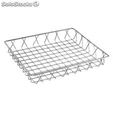 Cesta alambre acero inoxidable Olympia - 350x300x50mm GM221