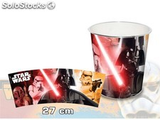 Cestino getta carte 27 cm star wars