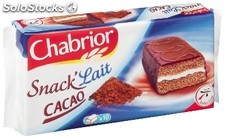 Chab 10 snack lait cacao 420G