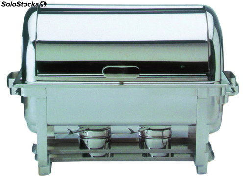 Chafing - Dish Inoxidable con Tapa Movil
