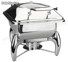 "Chafing dish ""luxe"" gn 1/2 con base"