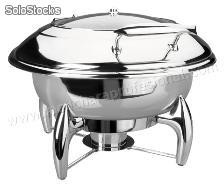 "Chafing dish ""luxe"" redondo"