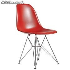 Chaise Eames dsr Rouge