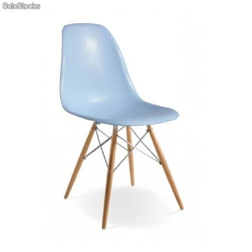 Dsw Chaise Bleu Eames Edition Chrome nvNy0Om8w
