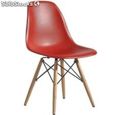 Chaise Eames dsw Rouge