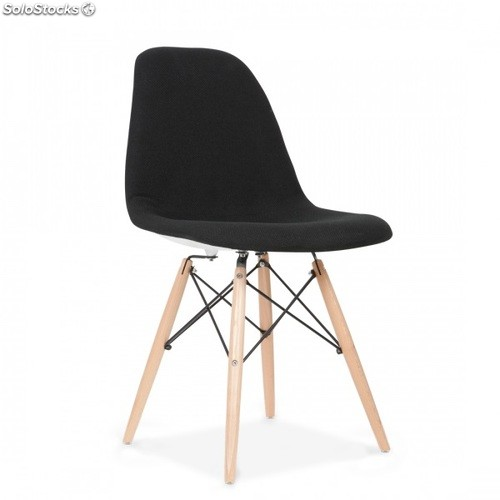 Chaise Eames DSW Style Noir Cover