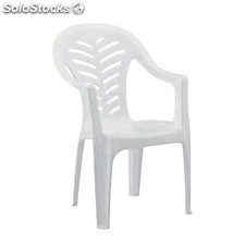 Chaise empilable en plastique
