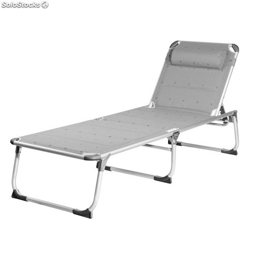 Chaise longue pliante campart travel be0639 for Chaise longue pliante camping
