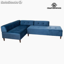 Chaise lounge ceos azul by Craftenwood