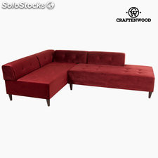 Chaise lounge ceos burdeos by Craftenwood