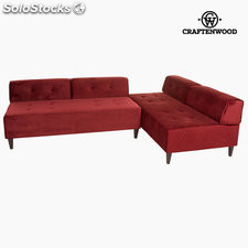 ✅ chaise lounge ceos burdeos by craftenwood