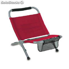 Chaise Mediterr neo Red S/T
