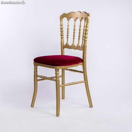 Chaise napol on iii blanche for Chaise napoleon blanche
