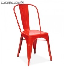 Chaise Tulix Style rouge