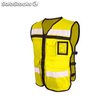 Chaleco abierto tipo rescatista high visibility