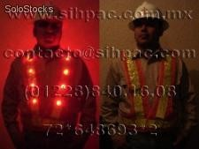 Chaleco con luces led sihpac