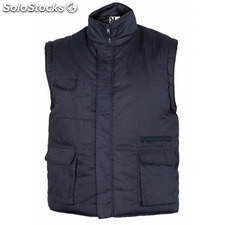 Chaleco Hombre xl azul marino workwear collection