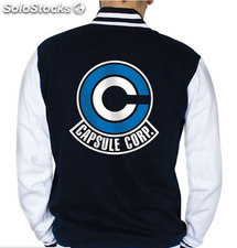 Chaqueta Dragon Ball Capsule Corp S