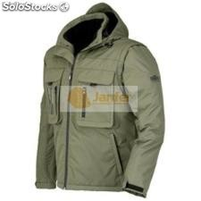 Chaqueta impermeable con mangas desmontables hunter
