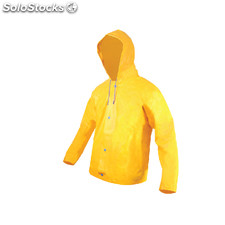 Chaquetin impermeable amarillo