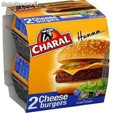 Charal cheese burger 2X145G