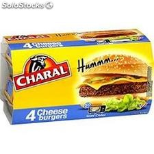 Charal cheese burger 4X145G