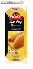 Charal hot dog moutard X1 120G