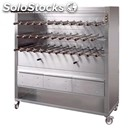 Charcoal rotisserie - mod. churrasco/cm35c - indipendent gear drive for each