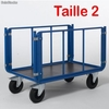 Chariot de manutention ridelle 1200 x 700 mm