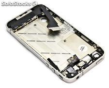 Chasis Completo Plata iPhone 4 (Incluye flex/auricular superior)