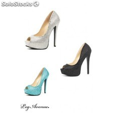 Chaussures Burlesque glamour
