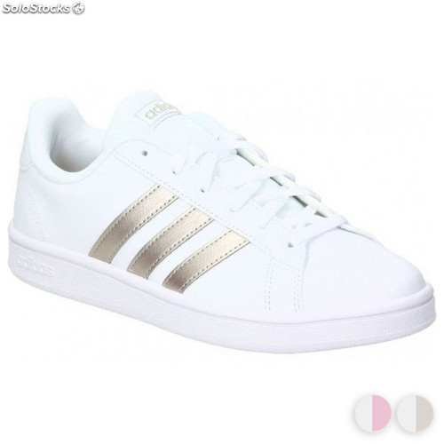 Chaussures Femme Base Grand Adidas Court Casual Yfgyb76