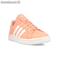 Chaussures casual femme Adidas Grand Court Base Rose