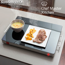 Chef Master Kitchen Warmhalteplatte