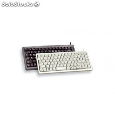 Cherry - Compact keyboard, Combo (usb + ps/2), es usb+ps/2 qwerty Negro teclado