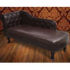 Chesterfield Chaise Marrón Antiguo