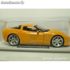 Chevrolet corvette grand sport 2010 escala 1/24 new ray coche escala