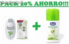Chicco dispositivo antimosquitos enchufe + spray 100ml 124100