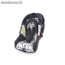 Child car seat baby car seat baby car seat black/white group 0+, 0-13 kg